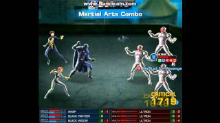 Marvel Avengers Alliance: Black Panther Black Widow & Wasp Heroic Battle