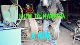 HOW TO NARROW A RIM