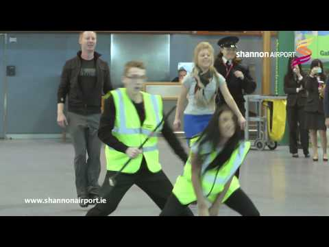 Shannon Airport Flashmob