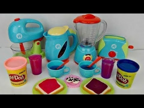 Xxx Mp4 JUST LIKE HOME Deluxe KITCHEN Appliance Full Set With Play Doh 3gp Sex