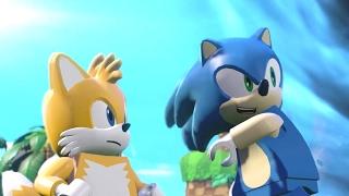 Sonic the Hedgehog LEGO Dimensions All Cutscenes Full Movie