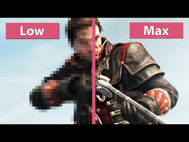 Assassin's Creed Rogue – PC Low vs. Max Graphics Comparison [WQHD|1440p]