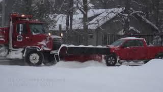 Rice Lake, WI Winter storm - 2/12/2019