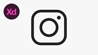 How to Draw the Instagram Icon in Adobe XD