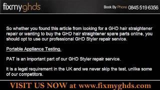 GHD Hair Straightener Spare Parts