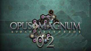 OPUS MAGNUM | MACHINE OIL #02 Amazing Alchemist Game - Let