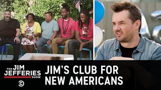 Jim Throws a Party for Fellow Soon-to-Be U.S. Citizens - The Jim Jefferies Show