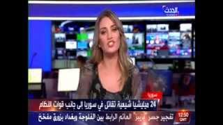 مذيعة  العربية  تنطق بلفظ خارج على الهواء