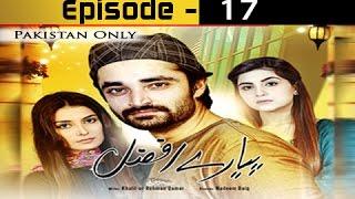 Pyarey Afzal Ep 17 - ARY Zindagi Drama