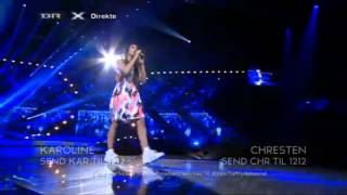 Karoline - Det Er Her Vi Bor @ X Factor DK Finale 2013 ᴴᴰ