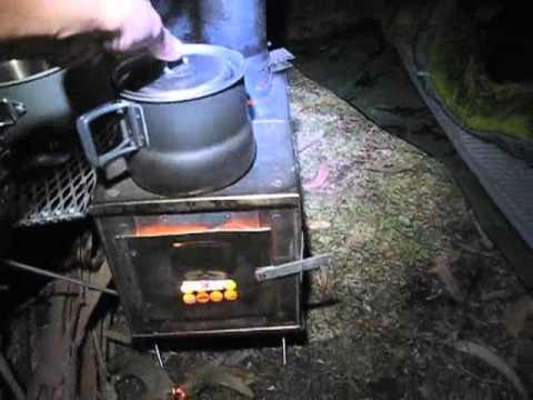 Kifaru 4 man tipi with stove