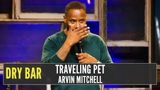 Traveling With a Dog in the Airport, Arvin Mitchell