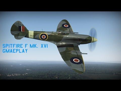 War Thunder Gameplay - Spitfire F Mk.XIVe - Die sparks!