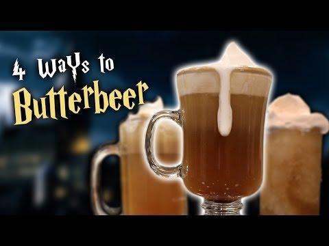 4 WAYS TO BUTTERBEER