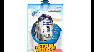 Star Wars R2D2 Yogurt - You can really taste the robot