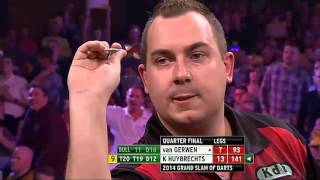 Top 5 9 dart finishes of all time