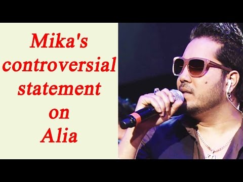 Xxx Mp4 Mika Singh Says Alia Sonakshi Follow Him To Be Famous Watch Video FilmiBeat 3gp Sex