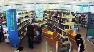 IN WORDS DROWN I / 9. november - 2. december 2012 / Roskilde Bibliotekerne