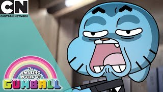 The Amazing World of Gumball | All The Cringe At Work | Cartoon Network