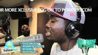 """Rick Ross w/Meek Mill """"Freestyle"""" On Cosmic Kev Come Up Show!"""