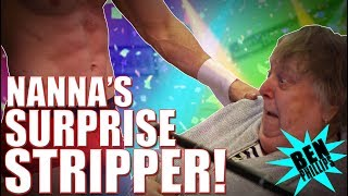 STRIP **PRANK!** ON NANA! (DISGUSTING)