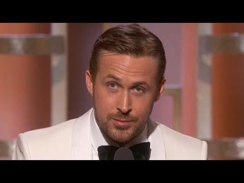 Ryan Gosling Dedicates Golden Globe Win to Eva Mendes in Touching Speech Watch