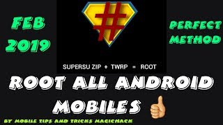(2019), How to Root Android Phone, Root Samsung, Moto & All Mobile Phone, No Magisk, No Kingroot
