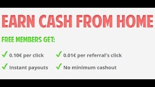 Earn money online (PTC) Earn Cash From Home  with brainbux: o.1$ per click