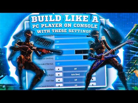 *NEW* BEST CONTROLLER SETTINGS EVER! - BECOME A TOP BUILDER IN SECONDS!! (Fortnite Battle Royale)