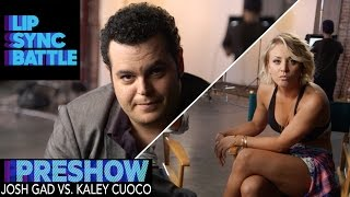 Josh Gad vs. Kaley Cuoco (Preshow) | Lip Sync Battle