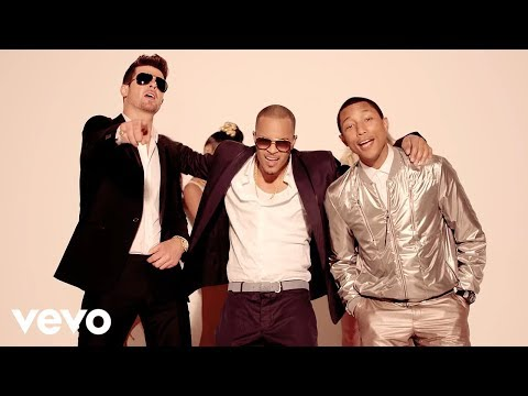Robin Thicke Blurred Lines Unrated Version ft. T.I. Pharrell