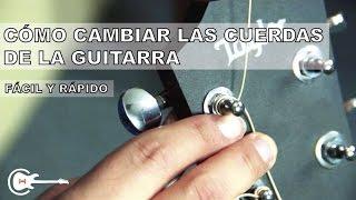 Como Cambiar las Cuerdas de La Guitarra Acústica FÁCIL | ChordHouse (HD)