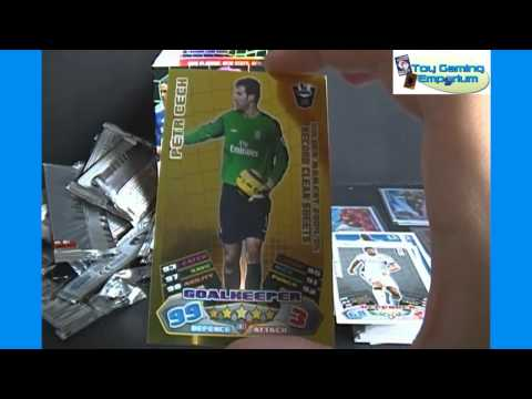 Opening a Box of Topps Match Attax 2011 2012 Trading Card Game Packs Part 3