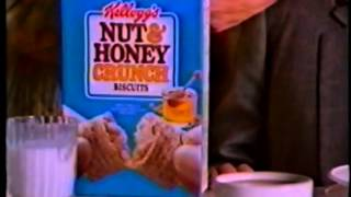 1988 Kelloggs Nut 'N Honey Crunch Cereal Commercial