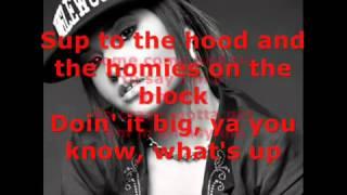 Becky G ft. will.i.am - Problem Lyrics( The Monster Remix )