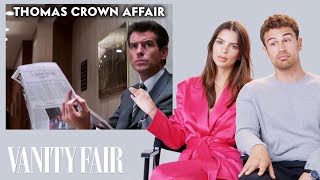 Emily Ratajkowski and Theo James Review Art Heist Movies | Vanity Fair