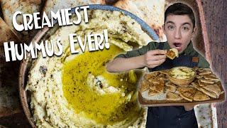 CREAMIEST HUMMUS EVER! | Chef Eitan Bernath
