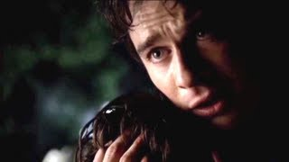 The Vampire Diaries 5x01 Jeremy's Car accident / Cary Brothers - Run Away