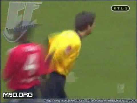 O goleiro que foi feliz por 23 segundos