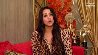 Actress Sanjjanaa Archana Galrani, shows her support for #ThePurpleRun
