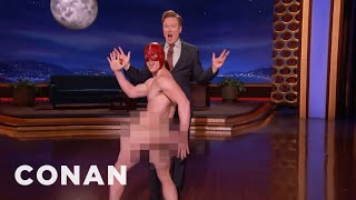 The Flash's Pervy Cousin Is Excited For #ConanCon  - CONAN on TBS