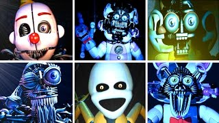 Five Nights at Freddy's: Sister Location ALL JUMPSCARES