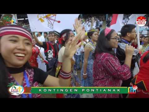 Pembukaan Indonesian Youth Day 2016 - Manado (4 Oktober 2016)