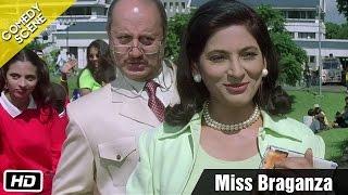 Miss Braganza - Comedy Scene - Kuch Kuch Hota Hai - Anupam Kher, Archana Puran Singh