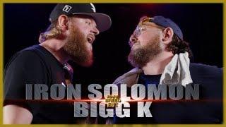 IRON SOLOMON VS BIGG K RAP BATTLE - RBE