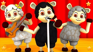 Baa Baa Black Sheep | Baby Nursery Rhymes Collection by Little Treehouse | 3D Kindergarten Kids Song