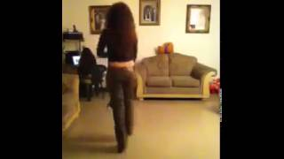 Girl Dances To Impossible