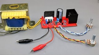 How to Make (0~4A,1~18V) DC Variable Lab Power Supply Circuit