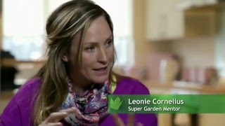 Leonie Cornelius Garden Designer, TV Presenter,  Mentor and Bloom Gold Winner