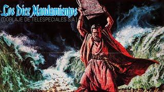 Los Diez Mandamientos - Moisés Convierte El Agua En Sangre (Doblaje Original Latino De 1982) (1956)